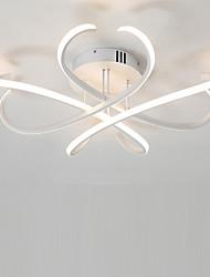 cheap -4-Light Linear Flush Mount Ambient Light 110-120V / 220-240V, Warm White / Cold White, LED Light Source Included