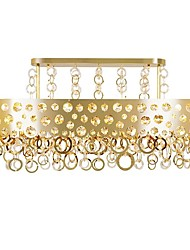 Недорогие -QIHengZhaoMing 9-Light Люстры и лампы Рассеянное освещение Электропокрытие Металл 110-120Вольт / 220-240Вольт Теплый белый Лампочки включены