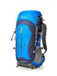 Недорогие -40+10 L Заплечный рюкзак - Дожденепроницаемый, Пригодно для носки На открытом воздухе Пешеходный туризм 120 гр / м2 полиэфирная эластичная ткань Красный, Синий, Вино