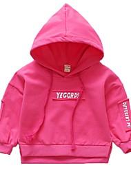 cheap -Baby Girls' Solid Colored Long Sleeve Hoodie & Sweatshirt