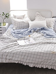cheap -Comfortable - 1pc Quilt Summer Polyester Plaid / Checkered