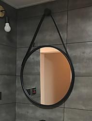 Недорогие -Зеркало Зеркальная поверхность Современный современный Металл 1шт - Зеркальная поверхность Косметическое зеркало / Украшение ванной комнаты