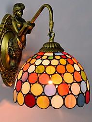 Недорогие -Античный Настенные светильники Гостиная Металл настенный светильник 220-240Вольт 40 W