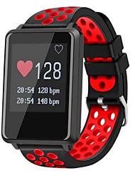 billige -Smartur GF8 for Android iOS Bluetooth Sport Vandtæt Pulsmåler Blodtryksmåling Touch-skærm Skridtæller Samtalepåmindelse Aktivitetstracker Sleeptracker / Brændte kalorier / Lang Standby / Vækkeur