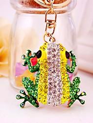 cheap -Keychain Yellow Irregular, Animal Imitation Diamond, Alloy Diamond / Rhinestone Decorated Case, Fashion For Gift / Daily