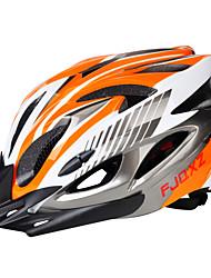 Недорогие -Взрослые Мотоциклетный шлем 18 Вентиляционные клапаны ESP+PC Виды спорта Велосипедный спорт / Велоспорт / Велоспорт - Черный / красный / Черный / синий / Серебро + оранжевый Универсальные