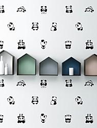 Недорогие -Декоративные наклейки на стены - Простые наклейки / Наклейки для животных Животные / Геометрия Гостиная / В помещении