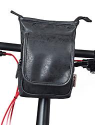baratos -2 L Bolsa para Quadro de Bicicleta Prova-de-Água, Ajustável, Ciclismo Bolsa de Bicicleta PU Leather Bolsa de Bicicleta Bolsa de Ciclismo Ciclismo Moto / Viagem