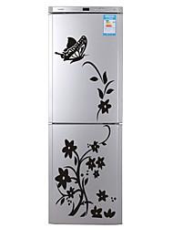 Недорогие -Декоративные наклейки на стены / Наклейки на холодильник - Простые наклейки Животные / Цветочные мотивы / ботанический В помещении