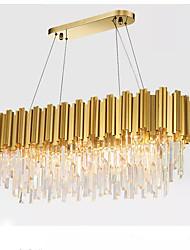 Недорогие -QIHengZhaoMing 10-Light Люстры и лампы Рассеянное освещение Электропокрытие Металл 110-120Вольт / 220-240Вольт Теплый белый Лампочки включены