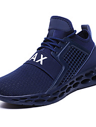 cheap -Men's Novelty Shoes Microfiber / PU(Polyurethane) Spring & Summer / Fall & Winter Athletic Shoes Black / Red / Blue