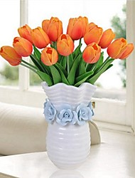 cheap -Artificial Flowers 10 Branch Classic / Single Stylish / Pastoral Style Tulips Tabletop Flower