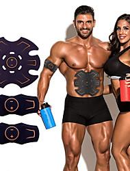 baratos -Estimulador ABS / Cinto de Tonificação Abdominal / EMS Abs Trainer Com Plástico Electrónico, Muskelstimulator, Sem Fio Treinamento EMS, Tonificação Muscular, Treino de ABS Para Exercício e Atividade