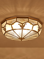 cheap -3-Light Novelty Flush Mount Ambient Light - New Design, 110-120V / 220-240V, Warm White, Bulb Not Included