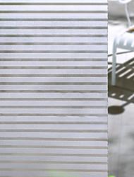 abordables -Film de fenêtre et autocollants Décoration Mat / Moderne Rayé PVC Autocollant de Fenêtre / Mat