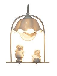 billige -Kreativ / Smuk Moderne / Nutidig / Land Væglamper Stue / Læseværelse / Kontor Metal Væglys 110-120V / 220-240V
