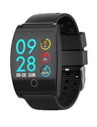 baratos -Pulseira inteligente JSBP-QS05 para Android iOS Bluetooth Esportivo Impermeável Monitor de Batimento Cardíaco Medição de Pressão Sanguínea Tela de toque Podômetro Aviso de Chamada Monitor de