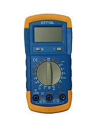 Недорогие -dt710l lcd портативный цифровой мультиметр, используемый для дома и автомобиля