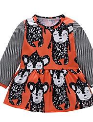 povoljno -Dijete Djevojčice Print Dugih rukava Haljina