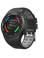 cheap -Smartwatch M1S for Android iOS Bluetooth GPS Sports Waterproof Heart Rate Monitor Touch Screen Timer Stopwatch Pedometer Call Reminder / Calories Burned / Long Standby / Hands-Free Calls