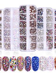 Недорогие -1 / коробка Модный дизайн / Светящийся Креатив Сердце маникюр Маникюр педикюр Смешанные материалы блестит / Ретро Свадебные прием / На каждый день