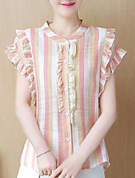 cheap -women's shirt - striped stand