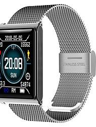 economico -Intelligente Bracciale JSBP-N98 per Android iOS Bluetooth Sportivo Impermeabile Monitoraggio frequenza cardiaca Misurazione della pressione sanguigna Schermo touch Pedometro Avviso di chiamata