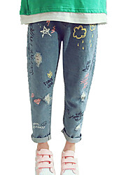 cheap -Kids Girls' Basic Solid Colored Pants