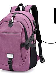 Недорогие -30 L Рюкзаки - Дожденепроницаемый, Пригодно для носки, Воздухопроницаемость На открытом воздухе Пешеходный туризм, Походы, Велоспорт PU Синий, Фиолетовый, Серый
