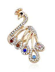 billiga -Dam Vintage Stil Ring - Vintage Guld Till Party