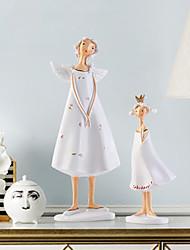 Недорогие -2pcs Резина Модерн для Украшение дома, Подарки / Домашние украшения Дары