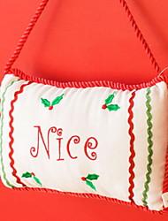 Недорогие -Хранение новогодних аксессуаров / Рождественские украшения Праздник Хлопковая ткань Квадратный Оригинальные Рождественские украшения
