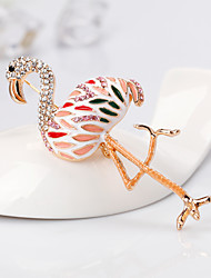 cheap -Women's Stylish Brooches - Bird, Creative European, Fashion Brooch Gold For Gift / Daily