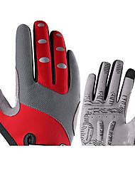 billiga -ROCKBROS Helt finger Unisex Motorcykel Handskar Nylon fiber Pekskärm / Andningsfunktion / Slitsäker