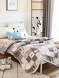 cheap -Comfortable - 1pc Quilt Summer Polyester Geometric
