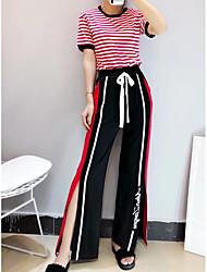 abordables -Mujer Blusa - Bloques Pantalón