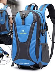 Недорогие -55 L Рюкзаки / Заплечный рюкзак - Дожденепроницаемый, Быстровысыхающий, Пригодно для носки На открытом воздухе Пешеходный туризм, Походы, Путешествия Нейлон Красный, Зеленый, Синий