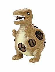 Недорогие -Резиновые игрушки / Устройства для снятия стресса Юрский динозавр Фокусная игрушка / Декомпрессионные игрушки 3 pcs Детские Все Подарок