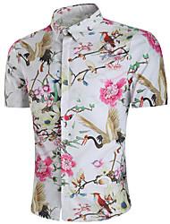 cheap -men's shirt - floral stand