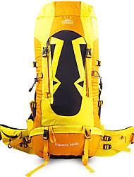 povoljno -TOPSKY 70 L Ruksak - Podesan za nošenje, Prozračnosti Vanjski Pješačenje, Penjanje, Ski Bijela, Sky blue