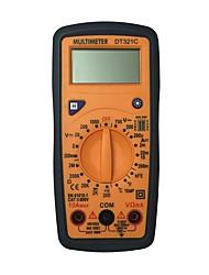 Недорогие -dt321c lcd портативный цифровой мультиметр, используемый для дома и автомобиля