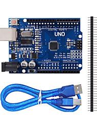 Недорогие -улучшенная версия UNO r3 ATmega328P платы для Arduino совместимый