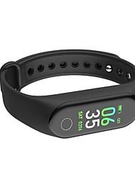 abordables -Bracelet à puce M3 pour iOS / Android Moniteur de Fréquence Cardiaque / Imperméable / Calories brulées / Ecran Tactile / Créatif Podomètre / Rappel d'Appel / Moniteur d'Activité / Moniteur de Sommeil