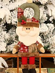 baratos -Fantasias de Natal Férias Tecido Cubo Brinquedo dos desenhos animados Decoração de Natal