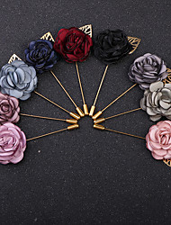 cheap -Women's Classic / Stylish Brooches - Imitation Diamond Roses, Flower Vintage, Fashion, British Brooch Light Blue / Light Pink / Lavender For Party / Daily