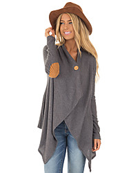 cheap -Women's Street chic Cardigan - Solid Colored