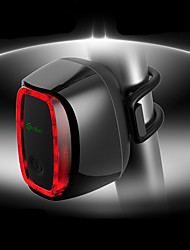 abordables -luces de seguridad / Luz Trasera LED Ciclismo Impermeable, Ajustable, Cool 50 lm Recargable / Potencia Rojo Camping / Senderismo / Cuevas / Ciclismo