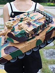 Недорогие -356 танк 1:18 Машинка на радиоуправлении 2 km/h 2.4G Готов к использованию Автомобиль дистанционного управления / 1 x Пульт управления моделирование / Взаимодействие родителей и детей