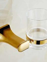 Недорогие -Держатель для зубных щеток Новый дизайн / Cool Современный Латунь 1шт Зубная щетка и аксессуары На стену