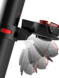 baratos -luzes de segurança / Luzes da cauda LED Ciclismo Impermeável, Ajustável, Libertação Rápida 50 lm Recarregável / Potência Vermelho Campismo / Escursão / Espeleologismo / Ciclismo